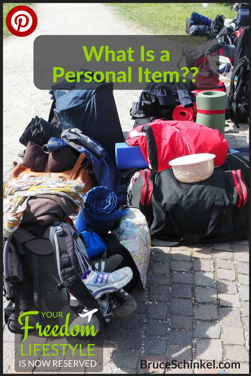 what is a personal item