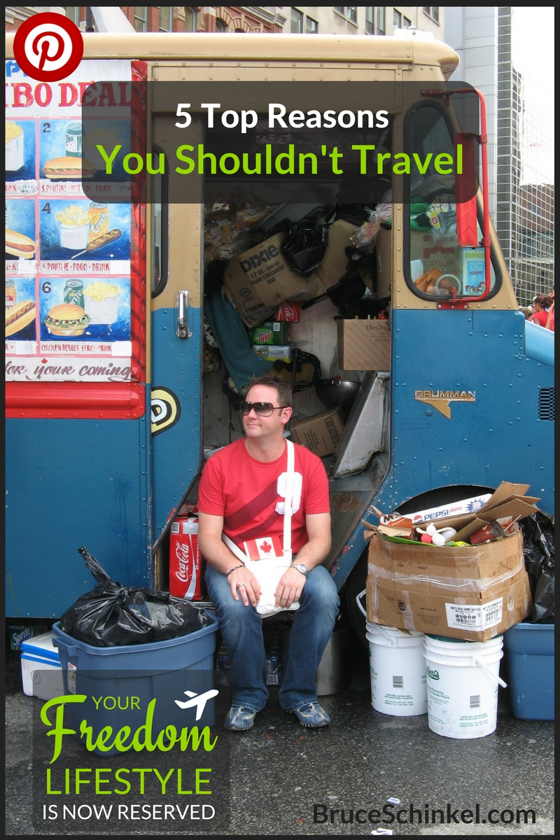 not travel