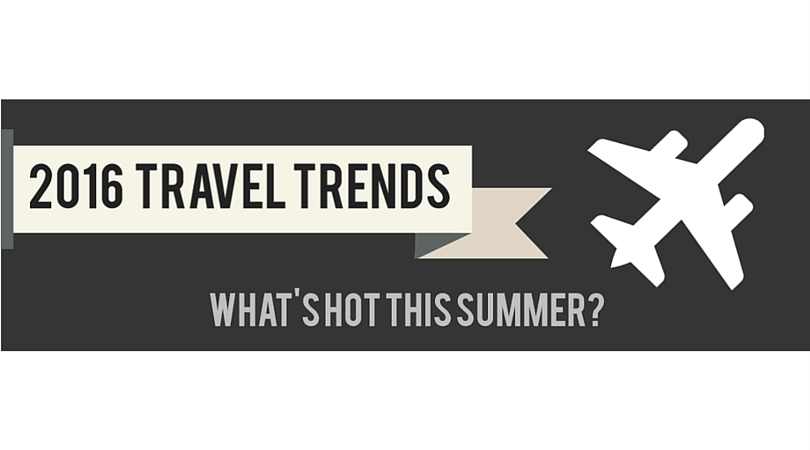 2016 Travel Trends: What's Hot This Summer